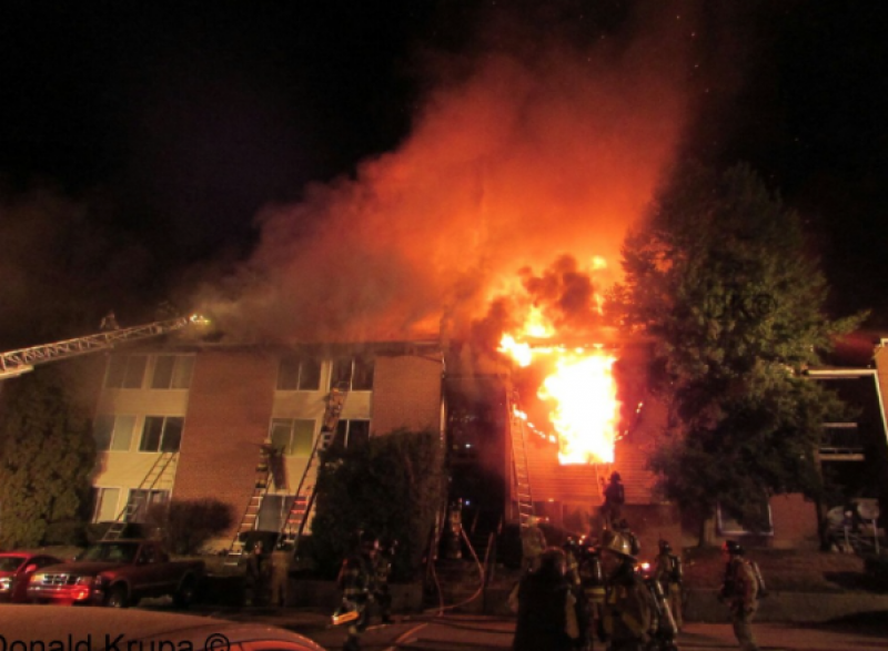 Claymont Apartment Fire (Again)